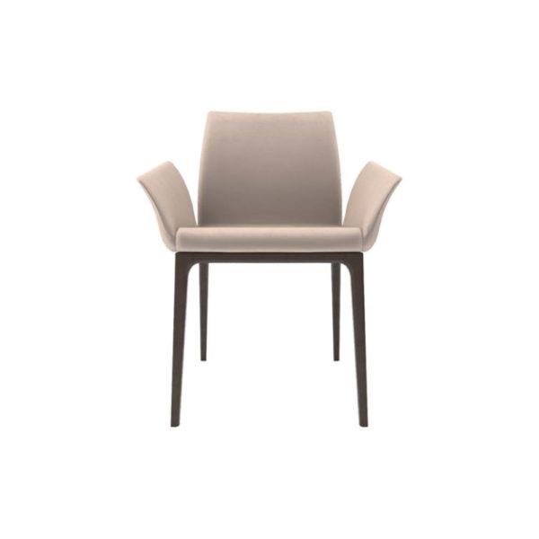 Zaz Upholstered Wingback Armchair