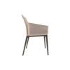 Zaz Upholstered Wingback Armchair 2