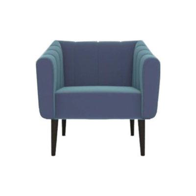 Ziggy Upholstered Stripe Armchair