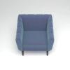 Ziggy Upholstered Stripe Armchair 5