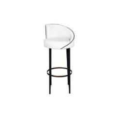 Einar Round Upholstered Bar Chair