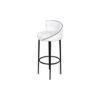 Einar Round Upholstered Bar Chair 2