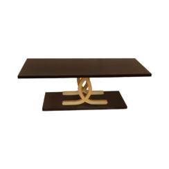 Azaro Brown and Gold Coffee Table
