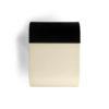 Bono Dark Brown and Cream Rectangular Side Table 3