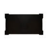 Pharo Rectangular Coffee Table Black Lacquer with Brass Strips 8