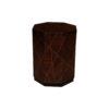 Drue Wooden Dark Brown Bedside Table 1