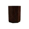 Drue Wooden Dark Brown Bedside Table 3