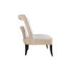 Mario Upholstered Square Armless Accent Chair 5