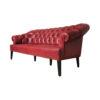 2 Seater Leather Sofa 4