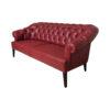 2 Seater Leather Sofa 3