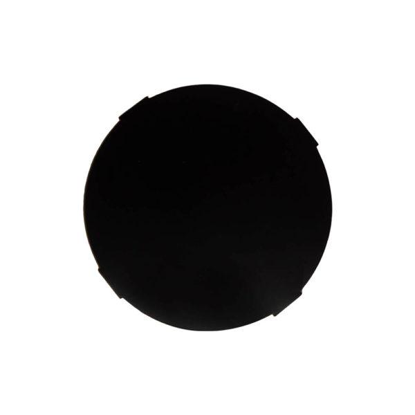 BonBon Dark Brown and Gold Cross Leg Round Side Table Top