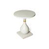 Cinnabar Grey Round Side Table 2