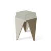 Diamond Grey Distressed Hexagonal Side Table 1