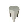 Diamond Grey Distressed Hexagonal Side Table 7