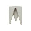 Diamond Grey Distressed Hexagonal Side Table 6