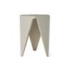 Diamond Grey Distressed Hexagonal Side Table 5