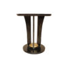 Fido Black Wooden Distressed Side Table 5
