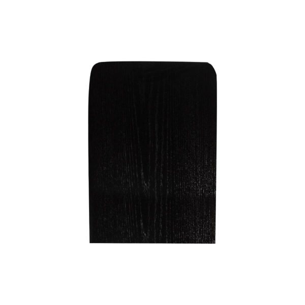 Jayden Dark Brown Square Side Table with Golden Legs Top