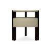 Slava Black and Grey Gloss Bedside Table 3