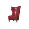 Warwick High Back Chair with Upholstery Natural Leather 3