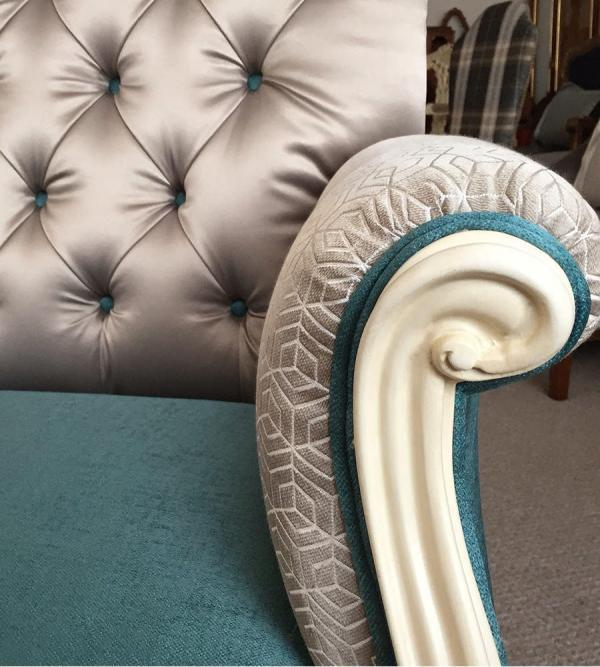 french-painted-wing-back-armchair-details
