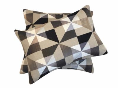 geometry cushion canvas