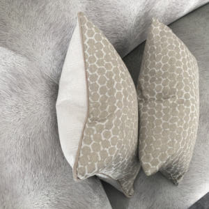 honeycomb cushion canvas details Englanderline Ltd.