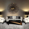 Jayden Black Lacquer Coffee Table 6