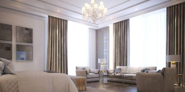 velvet chair and sofa