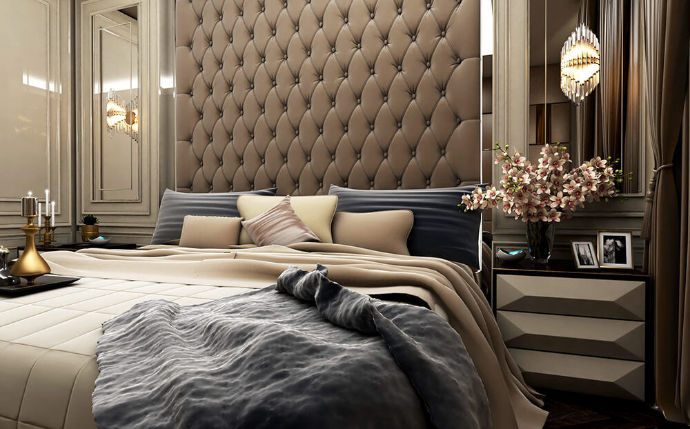 Headboard Bedroom Furniture Layouts Ideas
