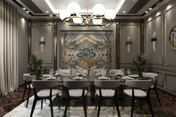 3D DiningRoom Projects