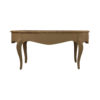 Alivar Oval Wood Marble Top Coffee Table 1