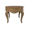 Alivar Oval Wood Marble Top Coffee Table 3