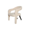 Archy Upholstered Round Back Arm Chair 3
