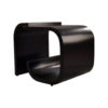 Bono Rectangular Black Gloss Side Table 2