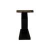 Celina Wood with Marble Brass Console Table 3