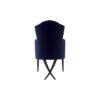 Cross Upholstered Tufted Armchair 4