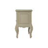 Dixon Wood Light Grey Lacquer Bedside Table 3