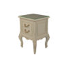 Dixon Wood Light Grey Lacquer Bedside Table 2