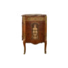 Ketho Marquetry Wood with Marble Top Vanity Unit 4