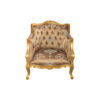 Kmart Upholstered Tufted Pattern Armchair 1