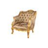 Kmart Upholstered Tufted Pattern Armchair 2