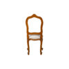 Macey Upholstered Vintage Dining Chair with Wood Frame 4
