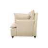 Mars Upholstered Off White Armchair with Cushions 3