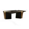 Mercado Dark Brown and Wood Coffee Table 6