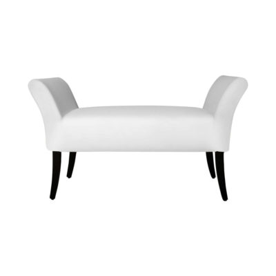 Nelson Upholstered Bench with Arms