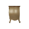 Roux Beige Wooden Sideboard with Glass Top 3