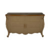 Roux Beige Wooden Sideboard with Glass Top 2