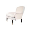 Warlus Upholstered High Back Armchair with Brass Inlay 2