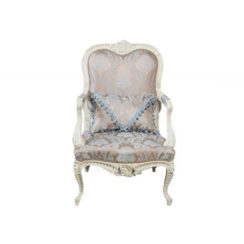 antique-french-style-armchair-hand-carved-wood-upholstery-luxury-fabric